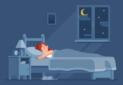 Melatonin vor dem schlafen gehen. Besserer Schlaf durch Melatonin