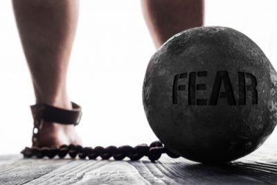 Angst als Fussfessel am Bein der Selbstmotivation