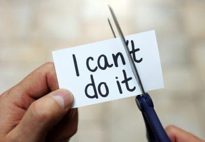 Konzept der Selbstmotivation positiven Einstellung und Motivation