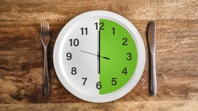 12:12 Methode intermittierendes Fasten