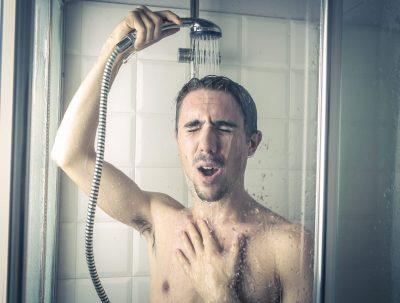 kalt duschen