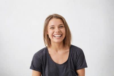 lächeln gegen stress