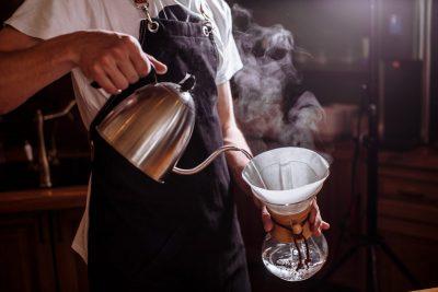 kaffee aufkochen