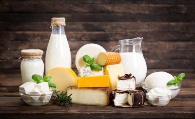 Was tun gegen Blähungen Milchprodukte