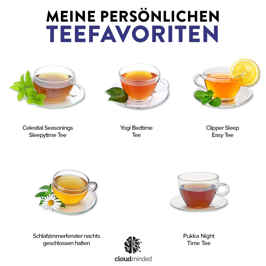 Meine Teefavorieten