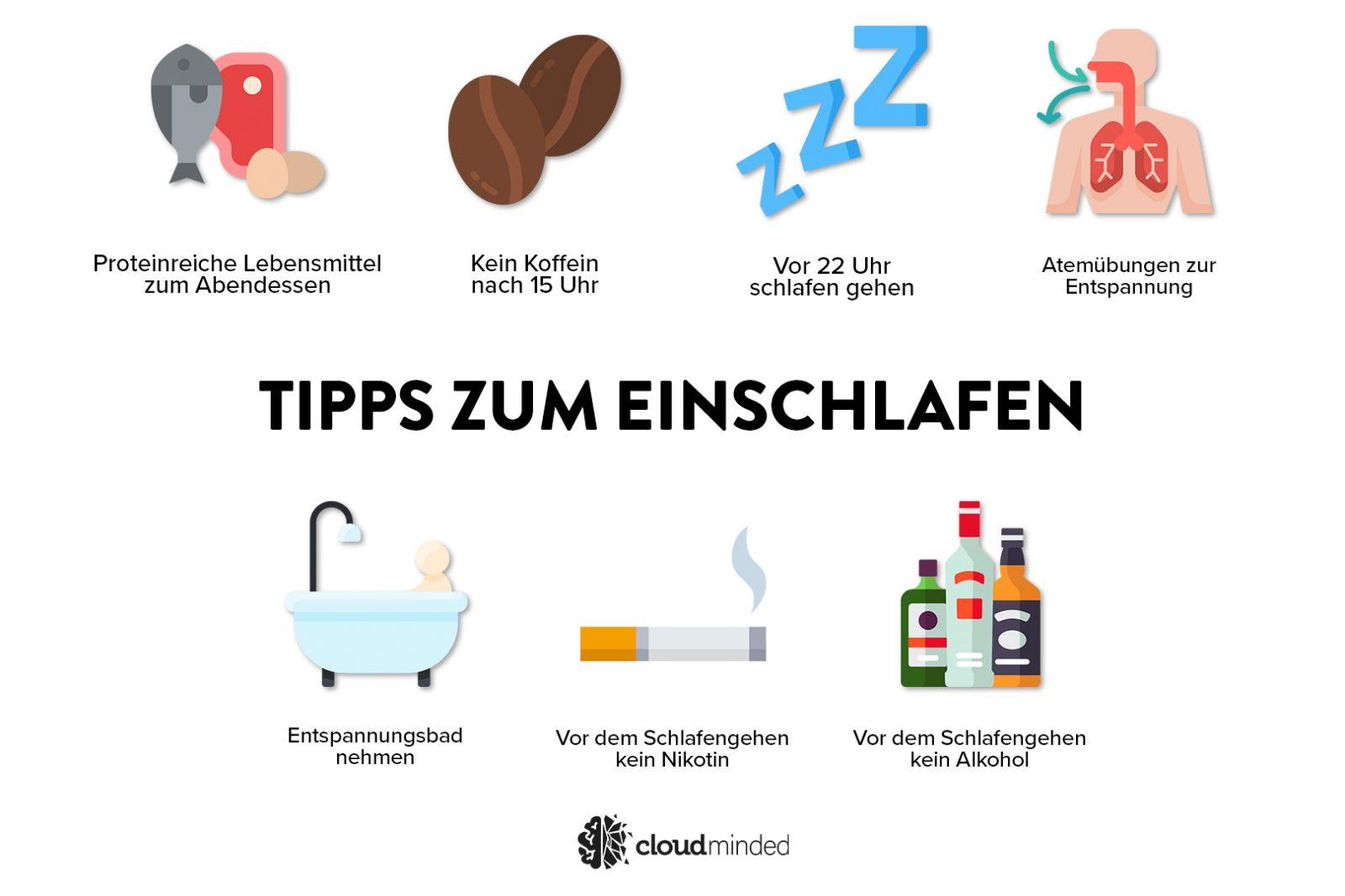 Tipps zu einschlafen