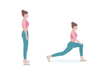 Übungen gegen Rückenschmerzen Hip Flexor