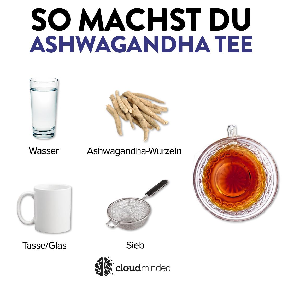 Ashwagandha Tee Rezept