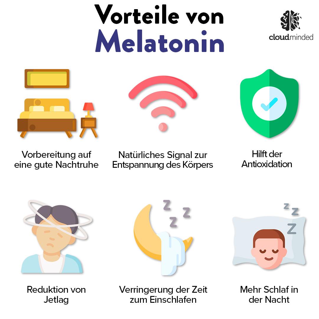Vorteile von Melatonin