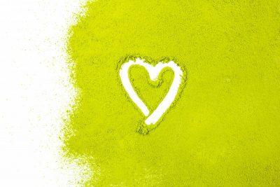 Grüner Tee Extrakt Herz