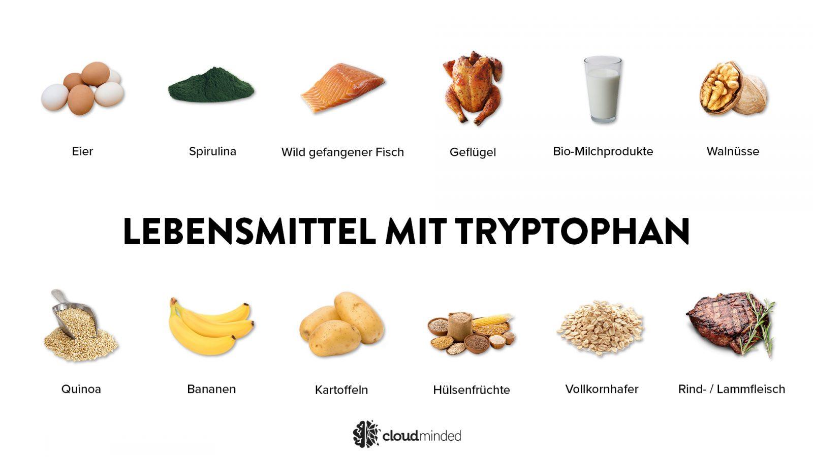 Lebensmittel mit Tryptophan