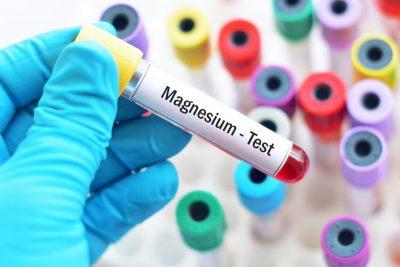Magnesium Lebensmittel Test